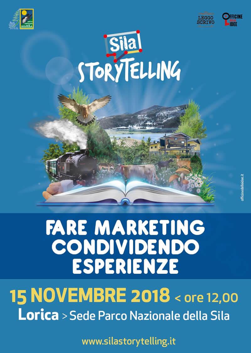 Sila Storytelling incontro 15 novembre 2018