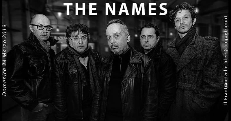 The Names in concerto al Frantoio Delle Idee 24 marzo 2019 a Cinquefrondi