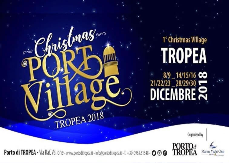 Christmas Port Village 2018 al Porto di Tropea