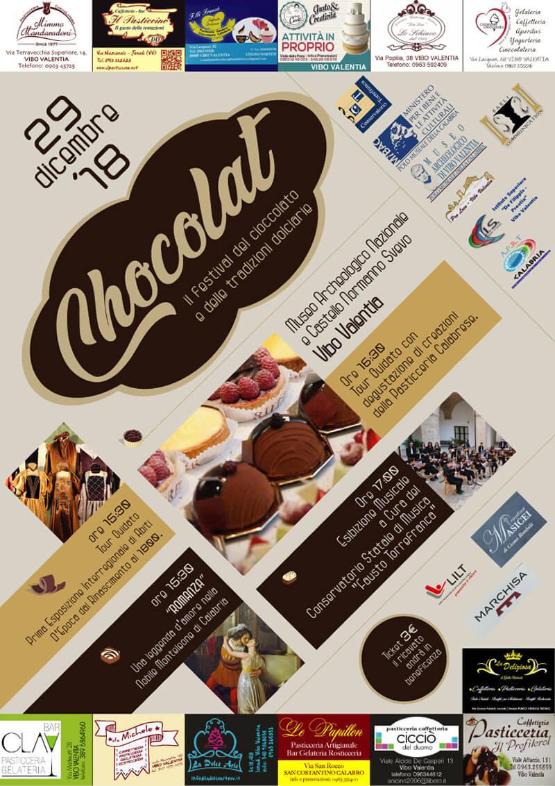 Festival del Cioccolato a Vibo Valentia 29 dicembre 2018