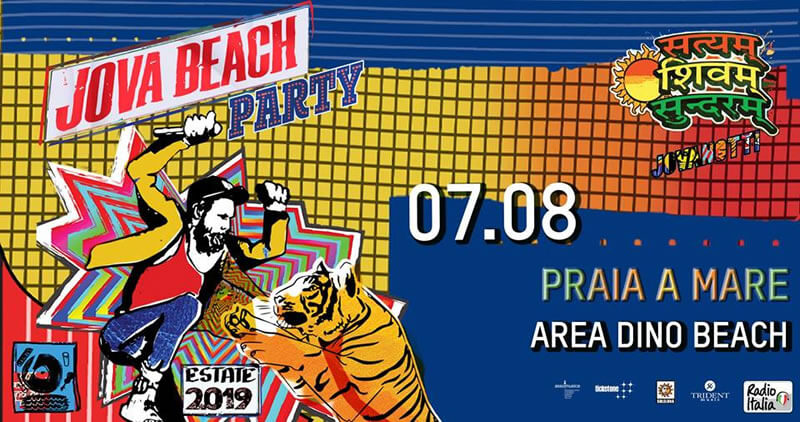 Jova Beach Party 2019 - Praia a Mare 7 agosto 2019