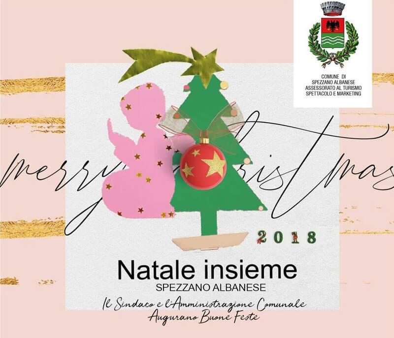 NataleInsieme 2018 a Spezzano Albanese