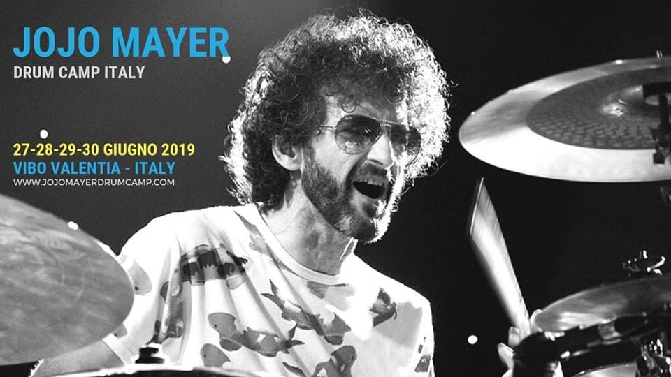 Jojo Mayer Drum Camp Italy 27-30 giugno 2019 a Vibo Valentia