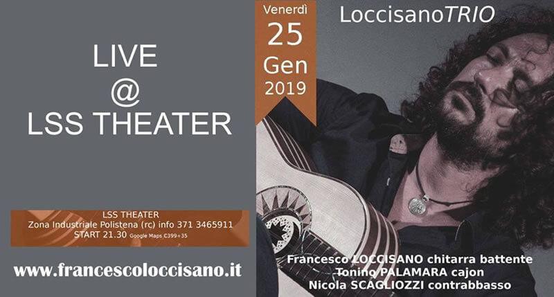 Loccisano TRIO 25 gennaio 2019 a Polistena