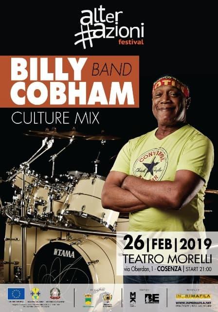Billy Cobham Band 26 febbraio 2019 Teatro Morelli a Cosenza