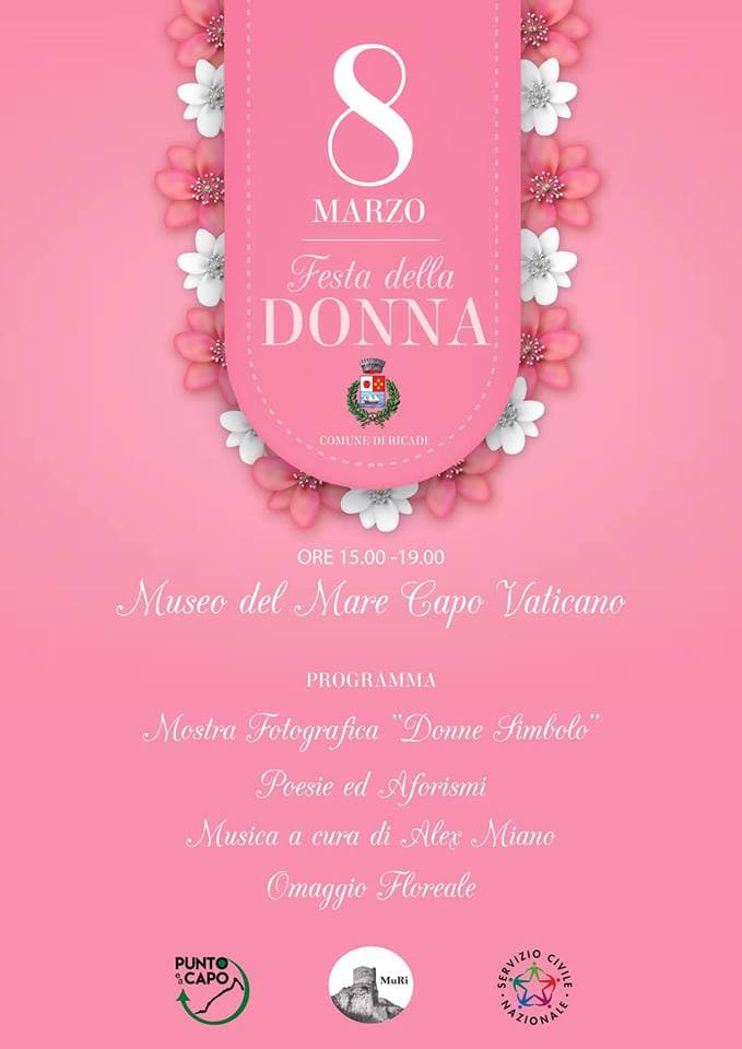 Festa della donna Muri Museo Civico Ricadi 8 marzo 2019