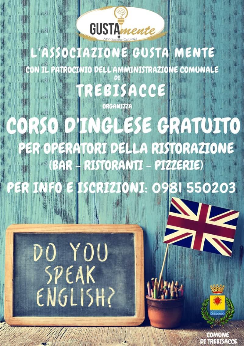 Trebisacce corso d'inglese gratuito per operatori della ristorazione