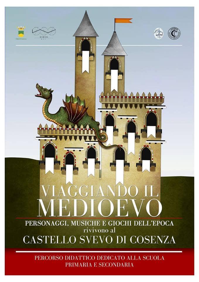 Viaggiando il Medioevo - percorso didattico per scuole a Cosenza