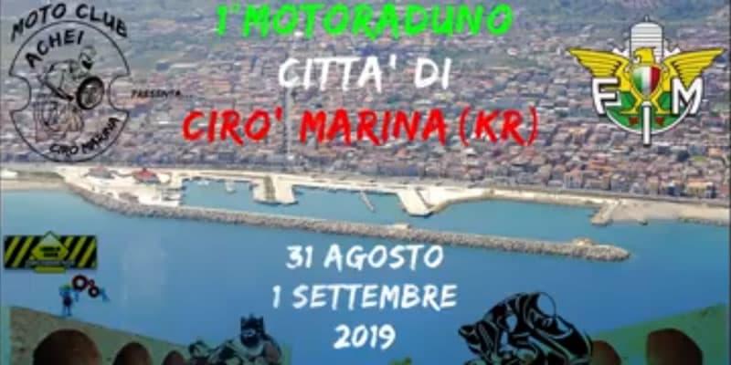 1° Motolimpiade Città Di Krimisa 31 agosto - 1 settembre 2019 a Cirò Marina