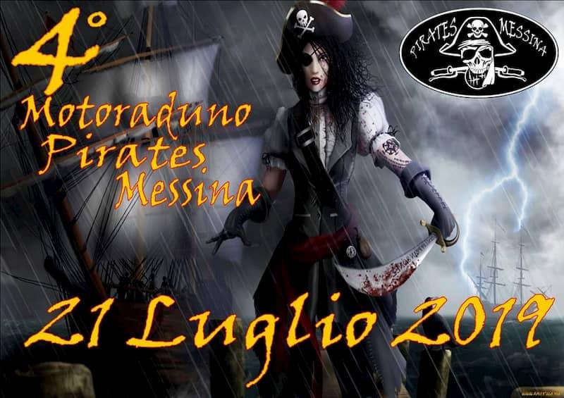 4 Motoraduno Pirates Messina 21 luglio 2019