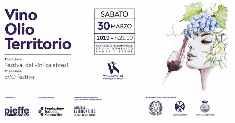 Lamezia Wine Fest 30 marzo 2019 a Lamezia Terme
