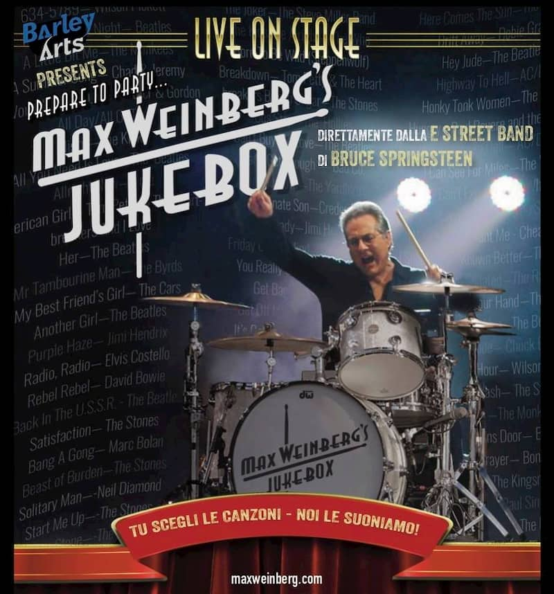 Max Weinberg's Jukebox live