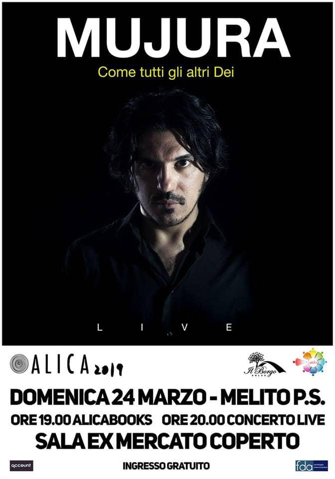 Mujura in concerto 24 marzo 2019 a Melito di Porto Salvo locandina