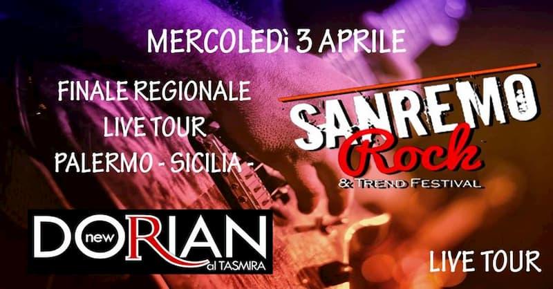 Sanremo Rock Live Tour Finale Regionale Palermo 3 aprile 2019