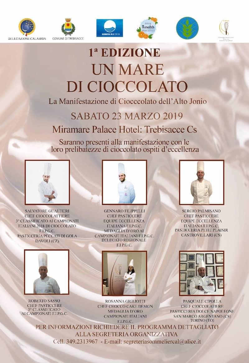 Un Mare di Cioccolato a Trebisacce 23 marzo 2019 locandina