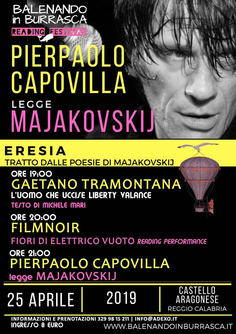 Balenando in Burrasca Reading Festival a Reggio Calabria 25 aprile 2019