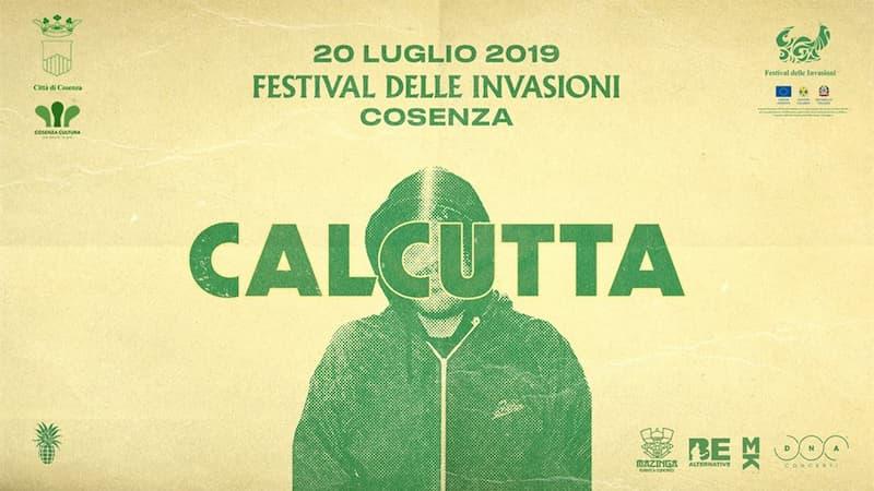 Calcutta - Festival delle Invasioni a Cosenza 20 luglio 2019