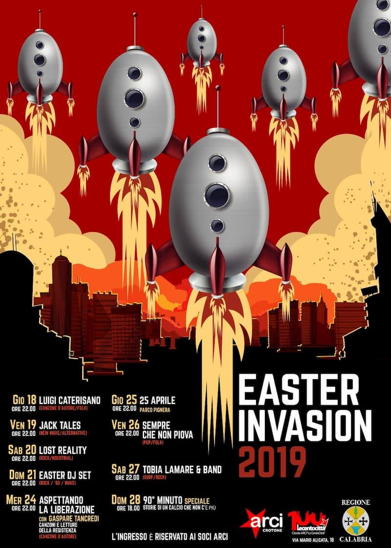 Easter Invasion 18-28 Aprile 2019 Crotone