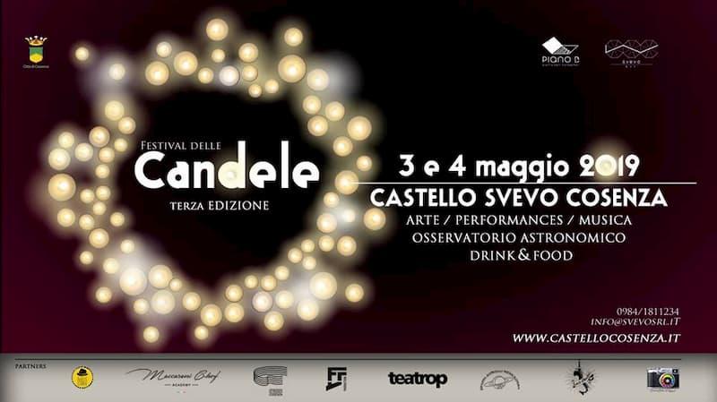 Festival delle Candele 3 e 4 maggio 2019 Castello Svevo a Cosenza