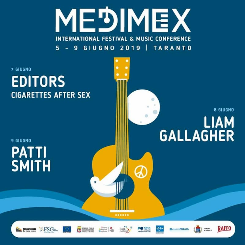Medimex 5 - 9 giugno 2019 Taranto