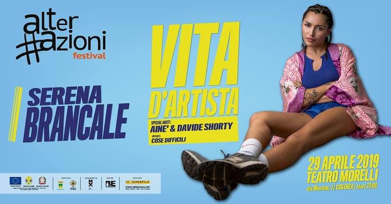 Serena Brancale 29 aprile 2019 Teatro Morelli - Cosenza