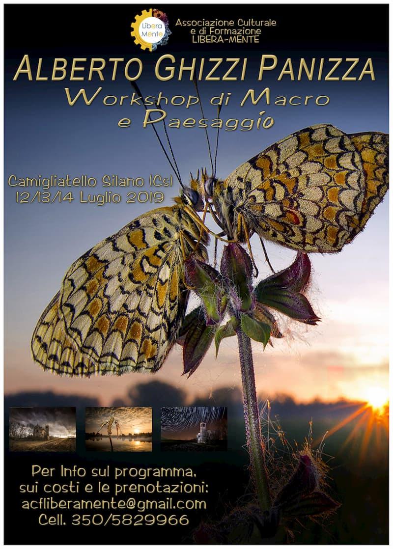 Workshop Fotografia Macro e Paesaggio Alberto Ghizzi Panizza dal 12 al 14 luglio 2019