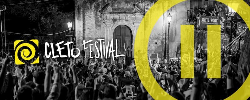 Cleto Festival banner 2019