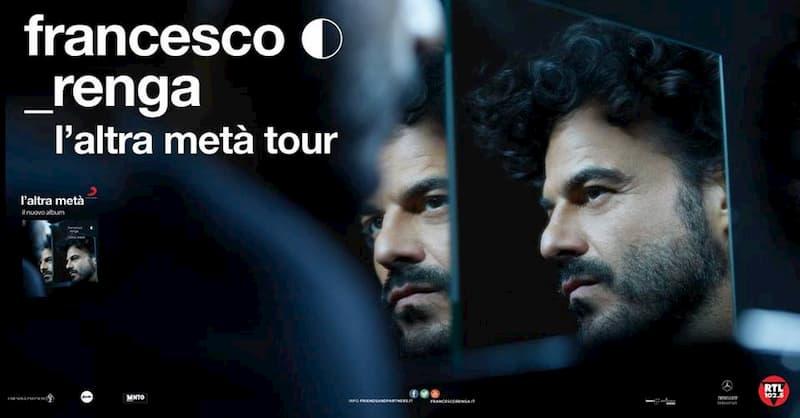 Francesco Renga l'altra metà tour 2019