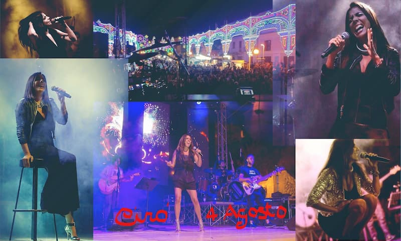 Mietta in concerto festività patronale di Cirò 4 agosto 2019