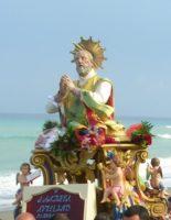 Monasterace - Festa del santo patrono Sant'Andrea Avellino in processione