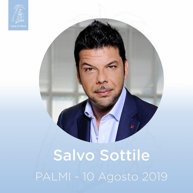 Salvo Sottile alla Varia di Palmi 10 agosto 2019