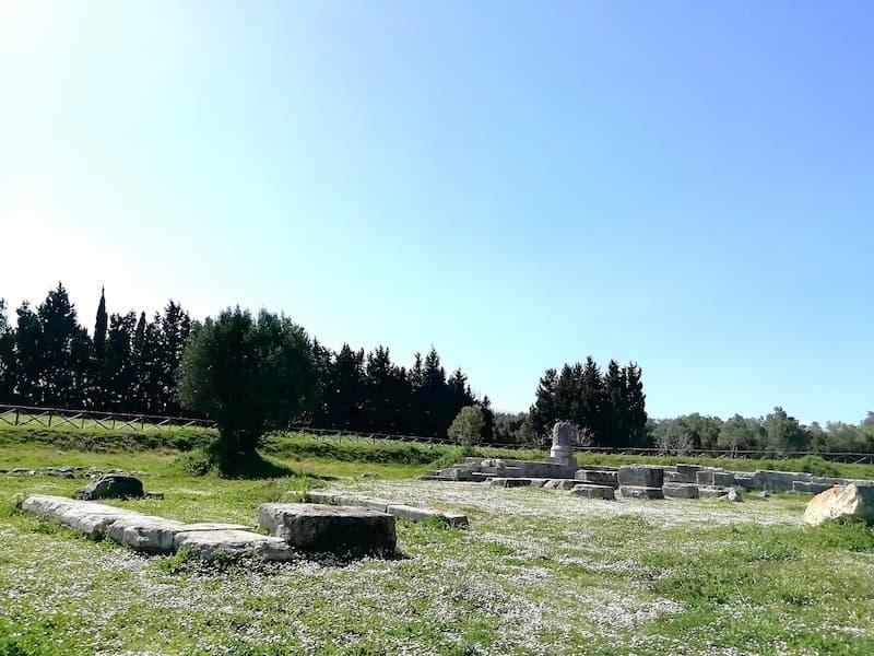 area sacra Marasà parco archeologico di Locri