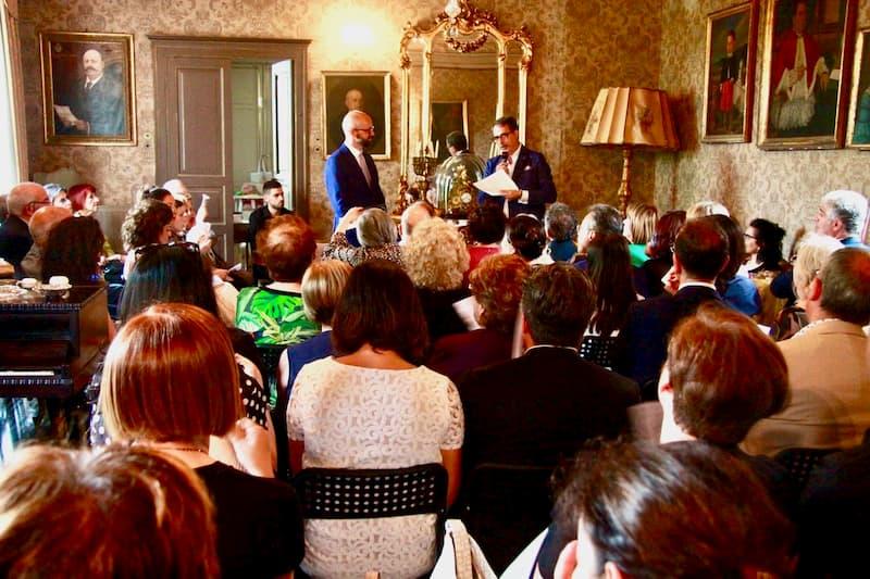 Antonio Cerasa rassegna A palazzo con lo scrittore 2019