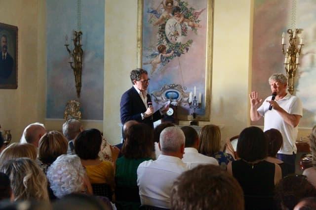 Antonio Forcellino alla rassegna A Palazzo con lo Scrittore a Lamezia Terme