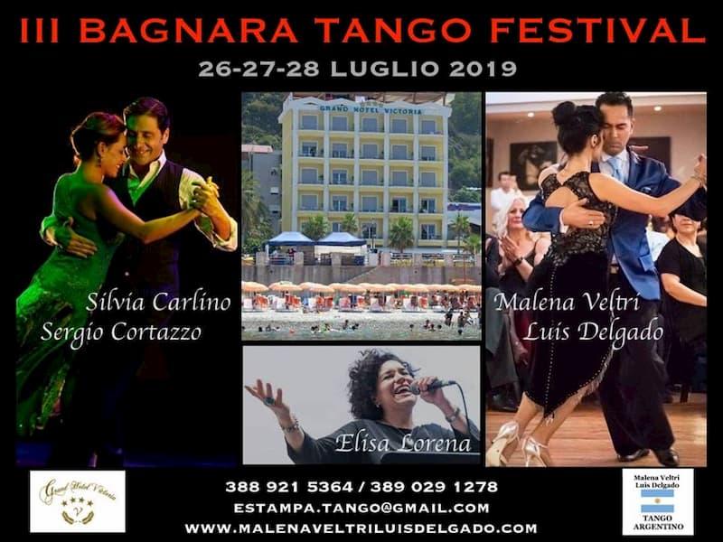 Bagnara Tango Festival 26 27 28 luglio 2019 - III Edition locandina