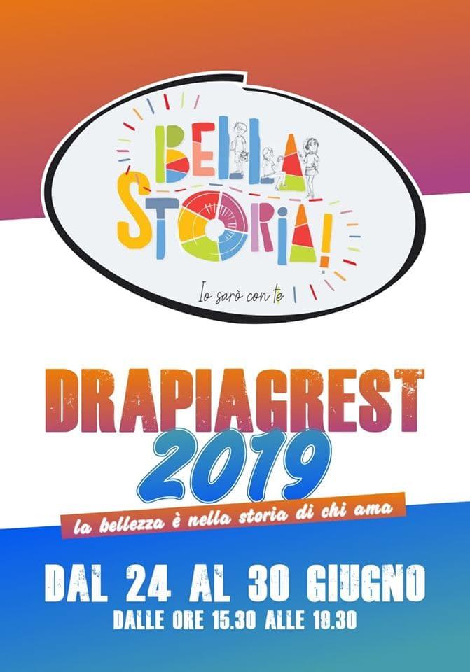 Bella Storia Drapiagrest 2019 dal 24 al 30 Giugno 2019