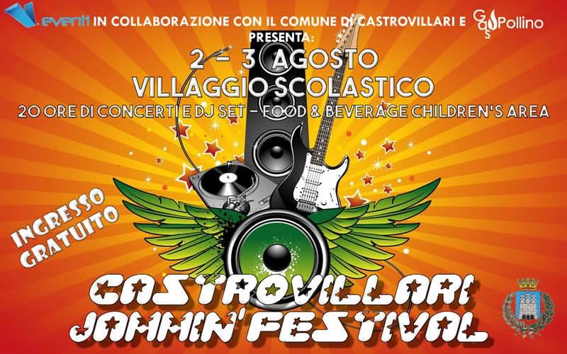 Castrovillari Jammin' Festival 2 e 3 Agosto 2019