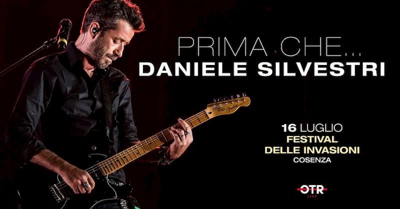 Daniele Silvestri 16 luglio 2019 a Cosenza al Festival delle Invasioni