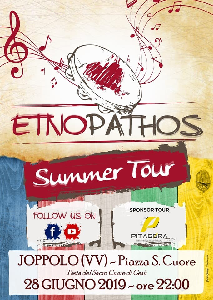 Etno Pathos Live - Joppolo 28 giugno 2019 locandina