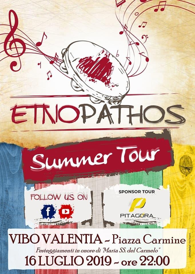 Etno Pathos Live - Vibo Valentia 16 luglio 2019