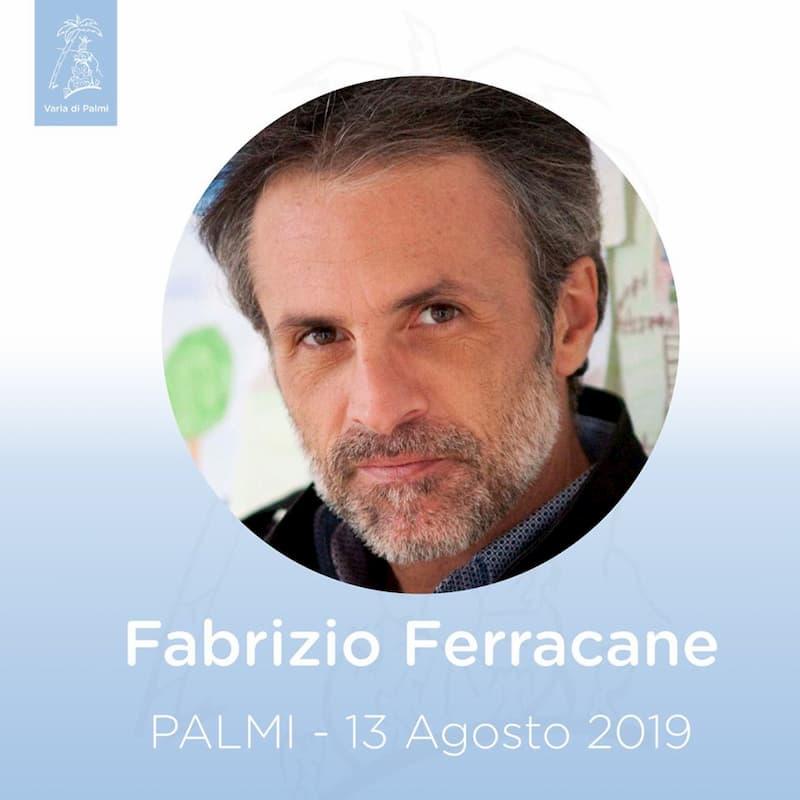 Fabrizio Ferracane alla Varia di Palmi 2019
