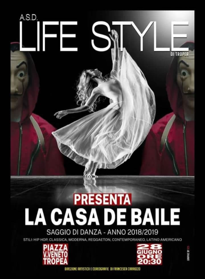 La Casa De Baile 28 giugno 2019 Piazza Vittorio Veneto, Tropea locandina