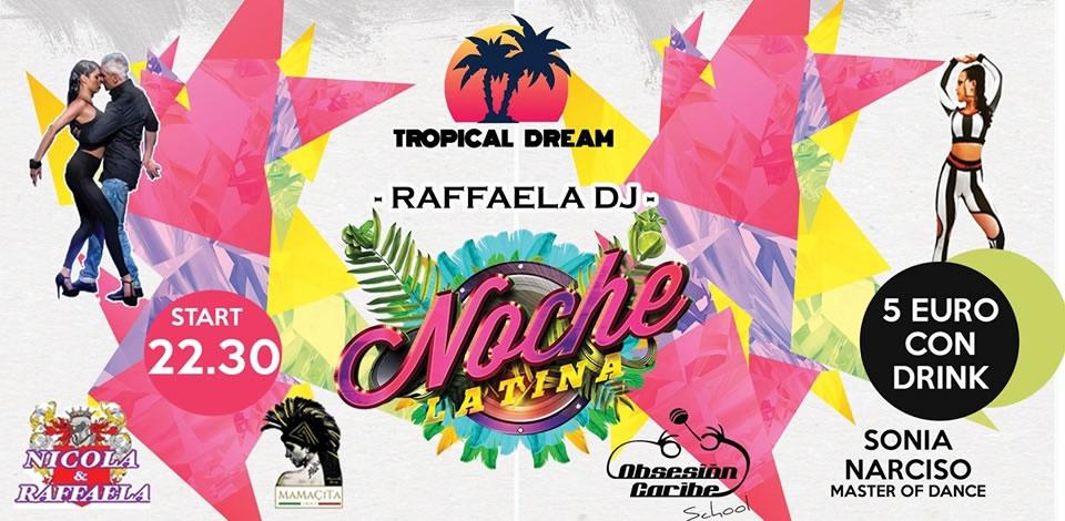 La noche latina al Tropical Dream di Ricadi