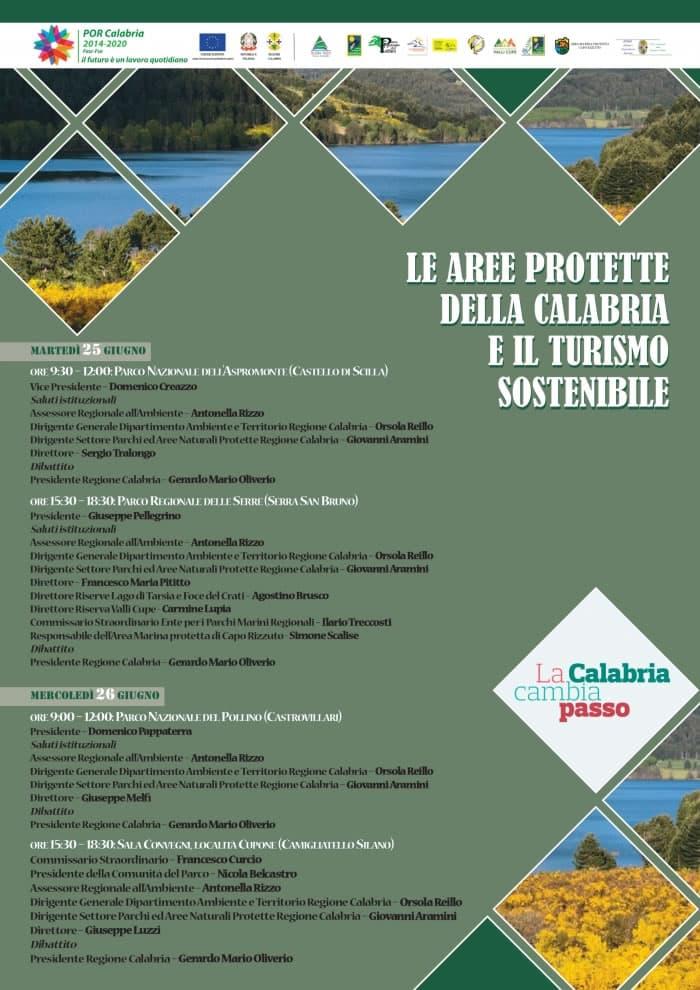 Le aree protette della Calabria e il turismo sostenibile