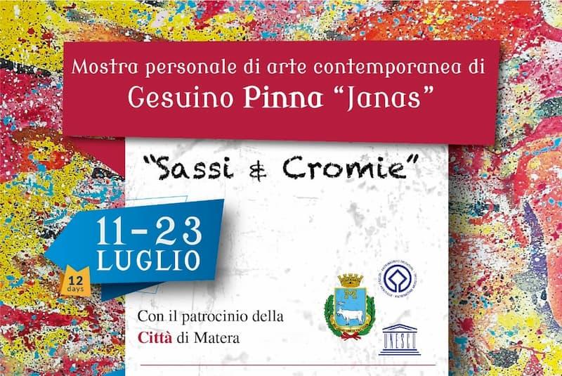Matera - Mostra Sassi & Cromie 11 - 23 luglio 2019