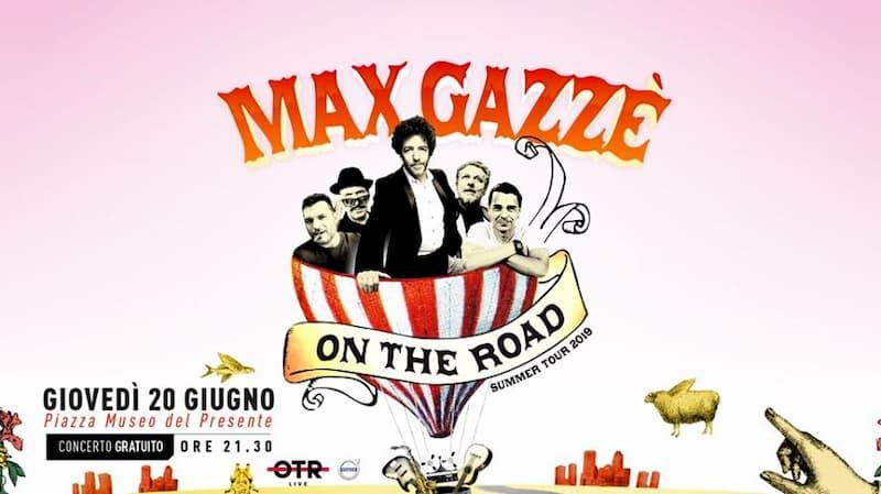 Max Gazzè live 20 giugno 2019 Centro Commerciale Metropolis a Cosenza
