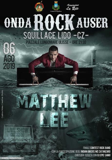 Onda Rock Auser 6 Agosto 2019 a Squillace Lido locandina