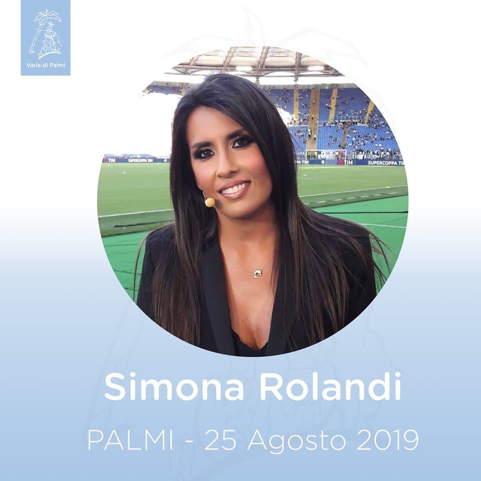 Simona Rolandi alla Varia di Palmi 25 agosto 2019