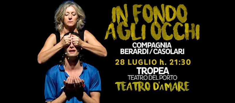 Teatro d'aMare in In fondo agli occhi 28 luglio 2019 Teatro del Porto di Tropea