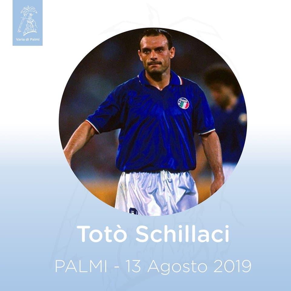 Toto Schillaci alla Varia di Palmi 13 agosto 2019